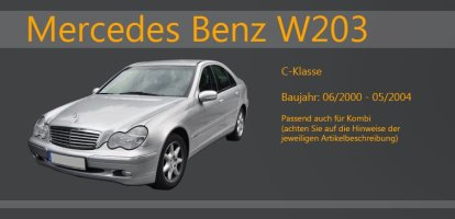 MERCEDES C-Klasse W203 06/00-05/04