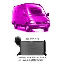 Kühler 208/308/408 CDI Diesel +/- AC  MERCEDES...