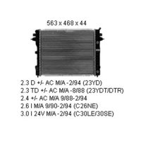 Kühler 2.3 D/2.3 TD +/- AC Schalt./Aut.  OPEL OMEGA...