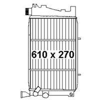 Kühler 16V 1580G/X CTI/GTI+automatik