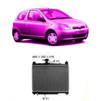 Kühler 1.0 16V B +/- Klim. manuell (1SZ/FE)