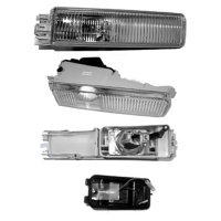 Nebelscheinwerfer   VORNE weiss 91-93 - LINKS