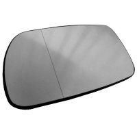 Ersatzspiegelglas Asphärisch Chrom heizbar+Platte -...