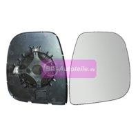 Spiegelglas / Ersatzglas heizbar + Platte Rechts Citroen...